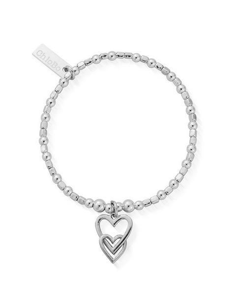 chlobo-childrens-sterling-silver-interlocking-love-heart-bracelet