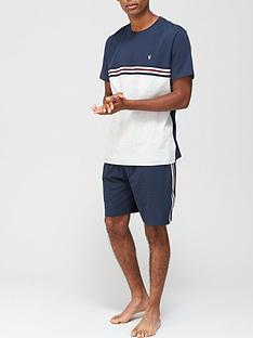 very-man-stripe-tee-and-short-pj-set-multi