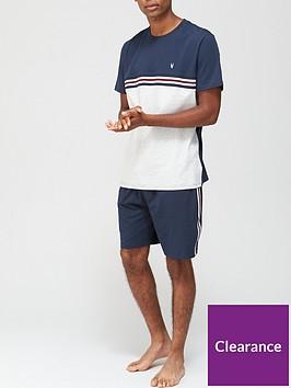 very-man-stripe-tee-and-short-pj-set-multi