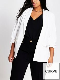 ri-plus-crepe-blazer-white