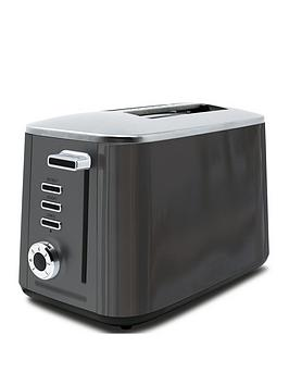 Drew & Cole   2 Slice Rapid Toaster - Charcoal