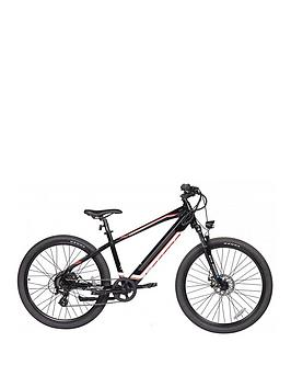 Lectro    Peak 36V Mens Electric 17 Inch Frame Black Mountain Bike