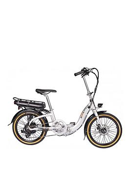 Lectro    Easy Step 36V Electric Folding 13 Inch Frame Unisex White Bike