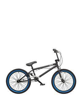 Rooster   Hardcore Boys 9.75 Inch Frame 20 Inch Wheel Bmx Bike Black
