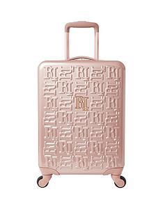 river-island-rosegold-small-hardshell-suitcase