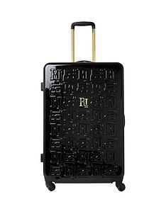 river-island-black-large-hardshell-suitcase