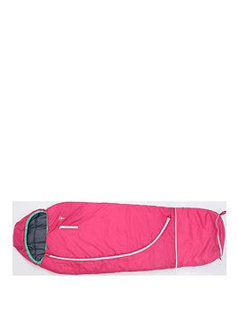 Very  Mummy Shaped Pink Sleeping Bag