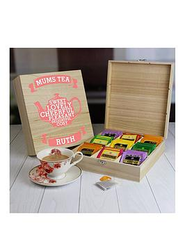 Very Mums Wooden Tea Chest - 9 Compartment Picture
