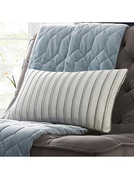 Tess Daly Tess Daly Metallic Stripe Boudoir Cushion Picture