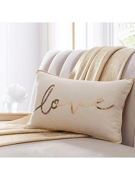 Tess Daly Tess Daly Love Boudoir Cushion Picture