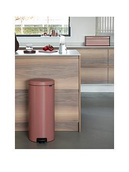 Brabantia Newicon 30-Litre Pedal Bin &Ndash; Terracotta Pink