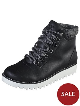 skechers-bobsnbspmountain-kiss-lace-up-walking-ankle-boot-black