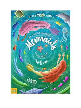 Very Personalised Mermaid Storybook For Children Picture