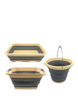 Streetwize Accessories Streetwize Accessories Collapsible Bowl And Basket  ... Picture