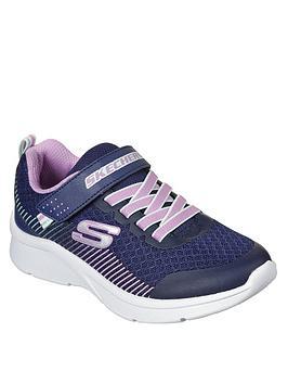 skechers-girls-microspec-strap-trainer-navy
