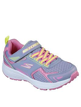 skechers-girls-go-run-consistent-strap-trainer-grey