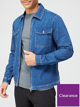 river-island-long-sleevenbspdenim-overshirt-mid-blue