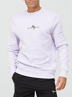 river-island-slim-maison-rivieranbspcrew-light-purple