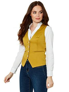 Joe Browns Joe Browns Cotton Waistcoat - Yellow Picture