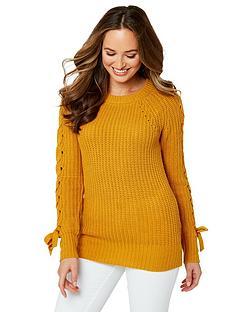 joe-browns-chunky-knit-jumper-mustard