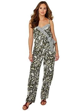 Joe Browns Joe Browns Safari Palm Jumpsuit Picture