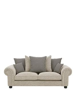 Very Harley Fabric 3 Seater Scatter Back Sofa Picture