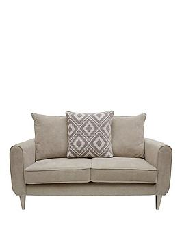 Very Mylo Fabric 2 Seater Scatter Back Sofa Picture