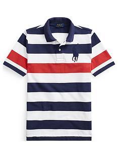 ralph-lauren-boys-short-sleeve-big-pony-stripe-polo-navy
