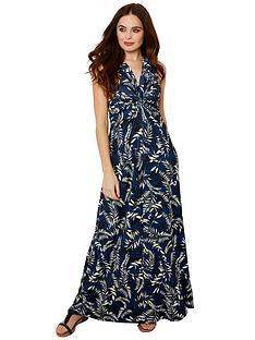 joe-browns-printed-maxi-dress-blue