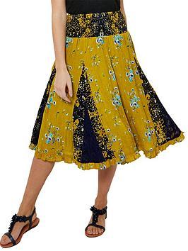 Joe Browns Joe Browns Mellow Yellow Godet Skirt - Yellow Picture