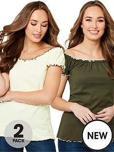 joe-browns-all-new-2-pack-gypsy-top-khakiolive