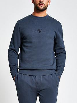 river-island-maison-slim-fit-crew-sweatshirt-greynbsp