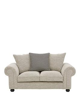 Very Harley Fabric 2 Seater Scatter Back Sofa Picture