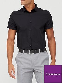 river-island-short-sleeve-shirt-black