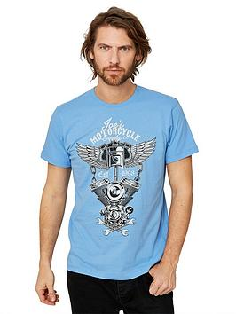 Joe Browns Joe Browns Engine Tee - Pale Blue Picture