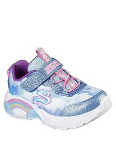 skechers-toddler-girl-rainbow-racer-light-trainer-blue
