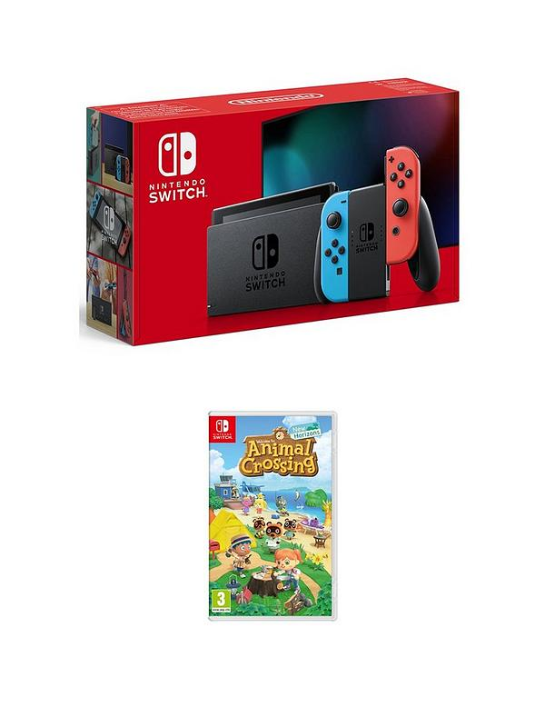 Nintendo Switch Nintendo Switch Neon Console With Animal Crossing