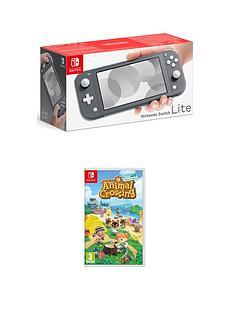 nintendo-switch-lite-nintendo-switch-lite-grey-console-with-animal-crossing-new-horizon