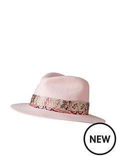 joe-browns-abigails-swish-wool-fedora-pink