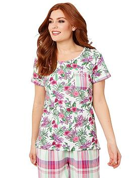 Joe Browns Joe Browns Mix And Match Floral T-Shirt - Off White Picture