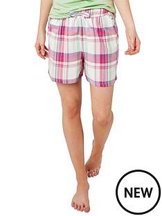 joe-browns-mix-and-match-check-pyjama-shorts-multi