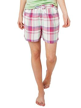 Joe Browns Joe Browns Mix And Match Check Pyjama Shorts - Multi Picture