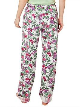 Joe Browns Joe Browns Mix And Match Floral Pyjama Bottoms - Off White Picture
