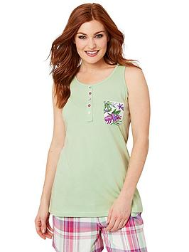 Joe Browns Joe Browns Mix And Match Vest Top - Green Picture