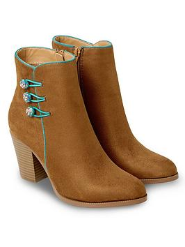 Joe Browns Joe Browns Fascinating Ankle Boots - Tan Picture