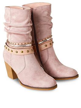 joe-browns-arizona-ankle-boots-dusky-pink
