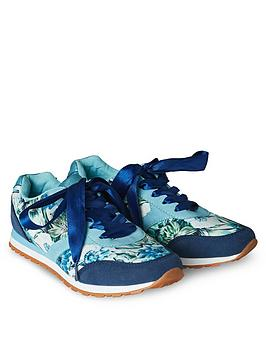 Joe Browns  Funky Mix Casual Trainers - Blue
