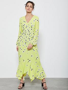 Mint Velvet Mint Velvet Juliet Floral Midi Dress - Yellow Picture