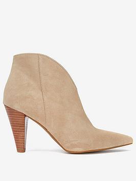 Mint Velvet Mint Velvet Finny Sand Suede Ankle Boots Picture
