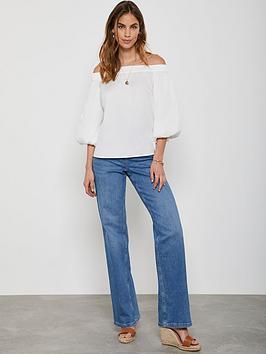 Mint Velvet Mint Velvet Montana Flared Jeans - Indigo Picture